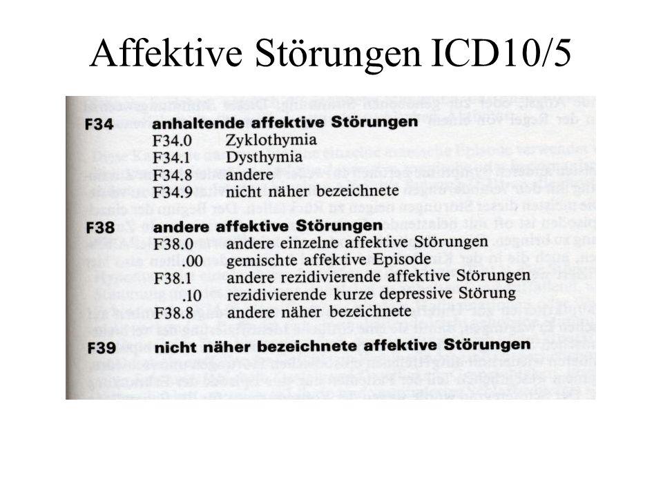 Affektive Störungen ICD10/5