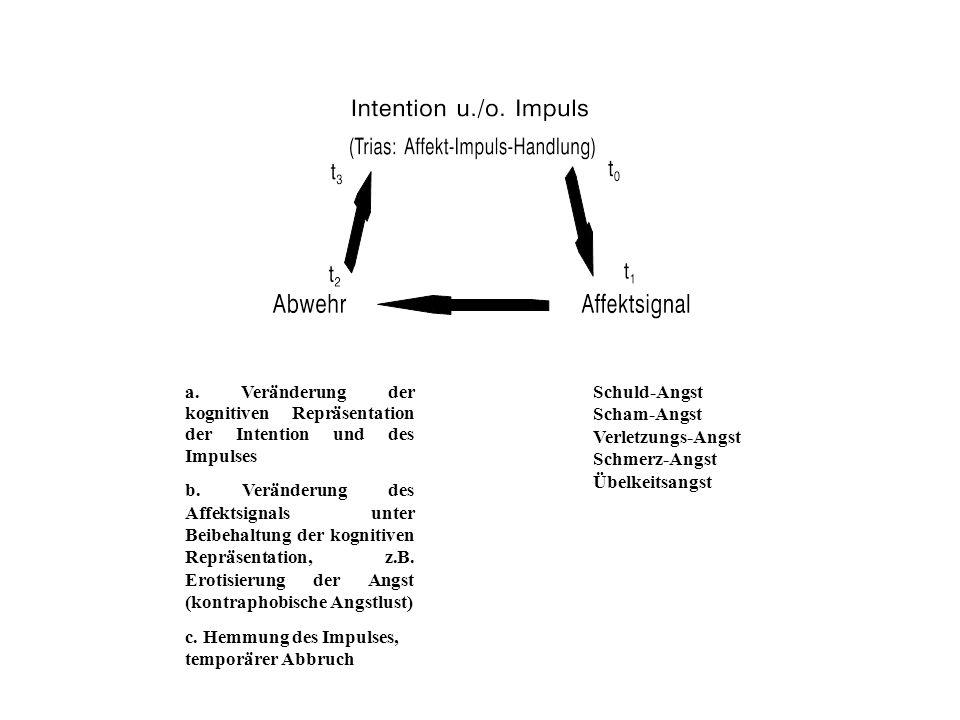 Schuld-Angst Scham-Angst Verletzungs-Angst Schmerz-Angst Übelkeitsangst a.