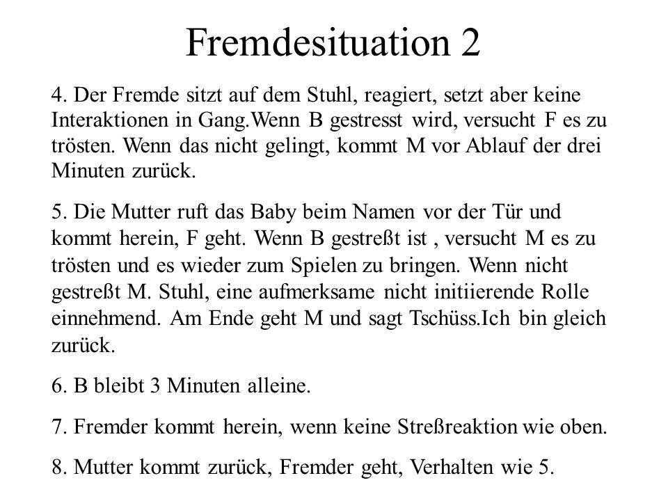 Fremdesituation 2 4.