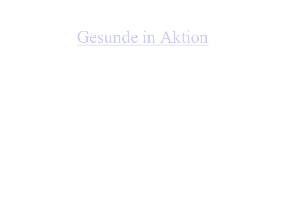 Gesunde in Aktion