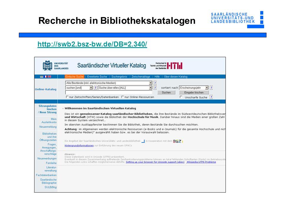 Falls die Literatur am Campus nicht vorhanden ist Online-Fernleihe: 1,50 pro Bestellung SUBITO (kostenpflichtiger Schnelllieferdienst mit Lieferung zwischen 24 h und 3 Werktagen) Fernleihe