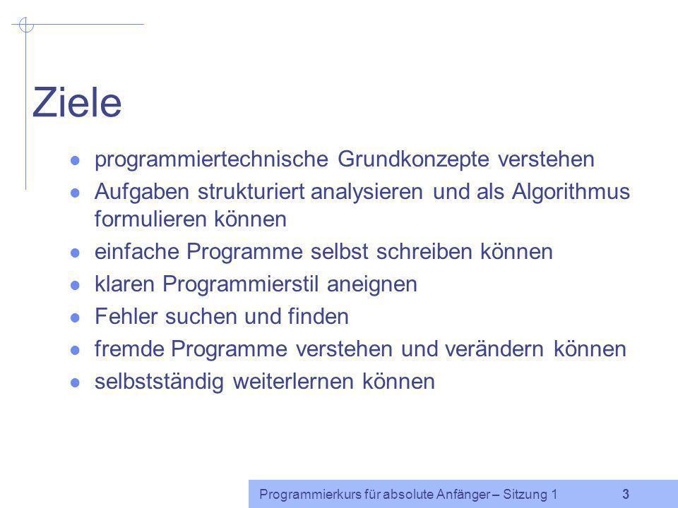 Programmierkurs für absolute Anfänger – Sitzung 1 2 Beispiele Intonationsuntersuchung: Wörter aus der Datenbank CELEX heraussuchen, die nur aus stimmh