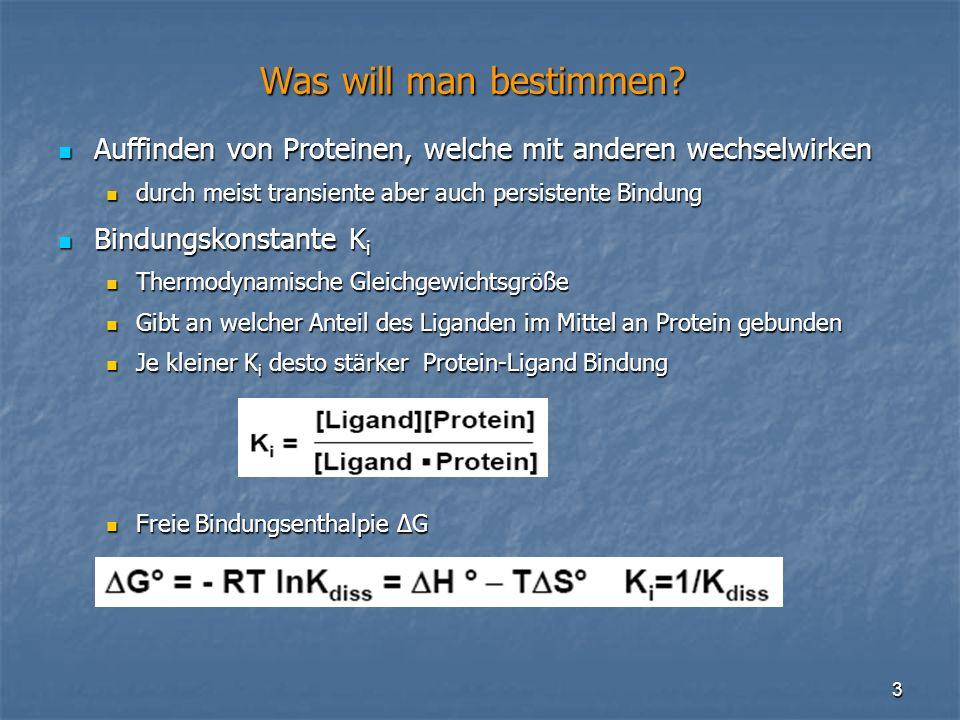 24 Structure prediction of protein-complexes by an NMR-based protein docking algorithm II Neue Scoring Funktion Neue Scoring Funktion Berechnet theoretisches H-NMR-Spektrum für jeden möglichen Komplex Berechnet theoretisches H-NMR-Spektrum für jeden möglichen Komplex Abweichung des simulierten Spektrums vom experimentellen Spektrum => Bewertung der Komplexe Abweichung des simulierten Spektrums vom experimentellen Spektrum => Bewertung der Komplexe Berechnung der Chemischen Verschiebung des Komplexes Berechnung der Chemischen Verschiebung des Komplexes Zerlegt Chemische Verschiebung δ in 4 Teile: Zerlegt Chemische Verschiebung δ in 4 Teile: δ RC : Random Coil shift δ RC : Random Coil shift δ A : Magnetic Anisotropy δ A : Magnetic Anisotropy δ JB : Ring current, Ringstromeffekt δ JB : Ring current, Ringstromeffekt δ EF : Electric field effect δ EF : Electric field effect