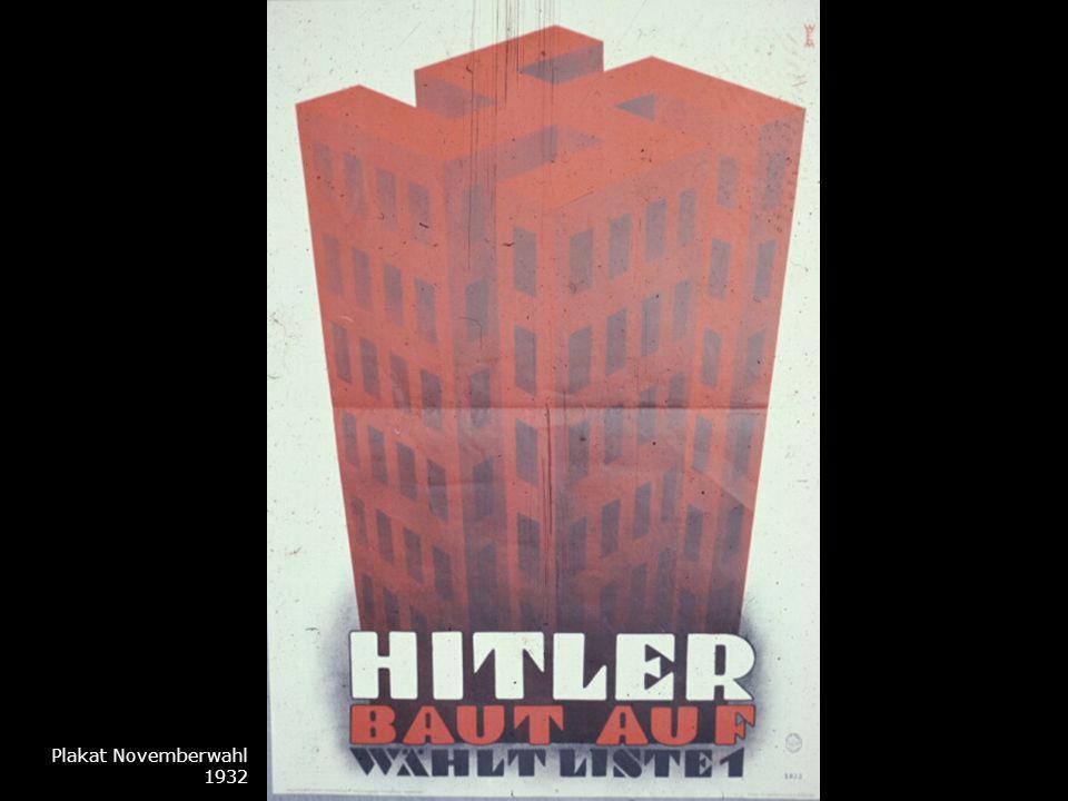 Plakat Novemberwahl 1932
