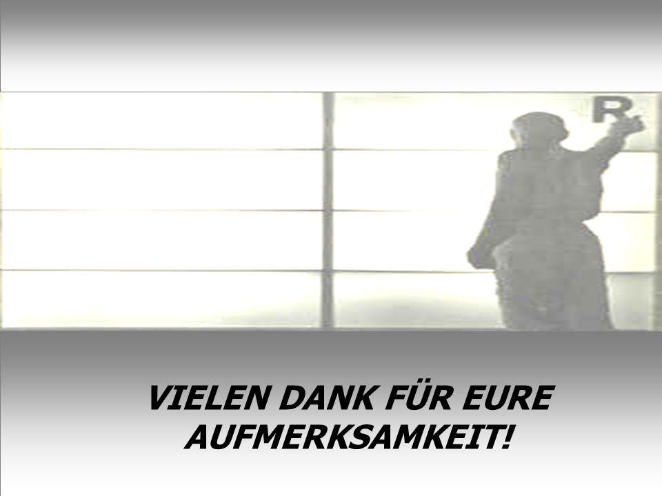 38 VIELEN DANK FÜR EURE AUFMERKSAMKEIT!