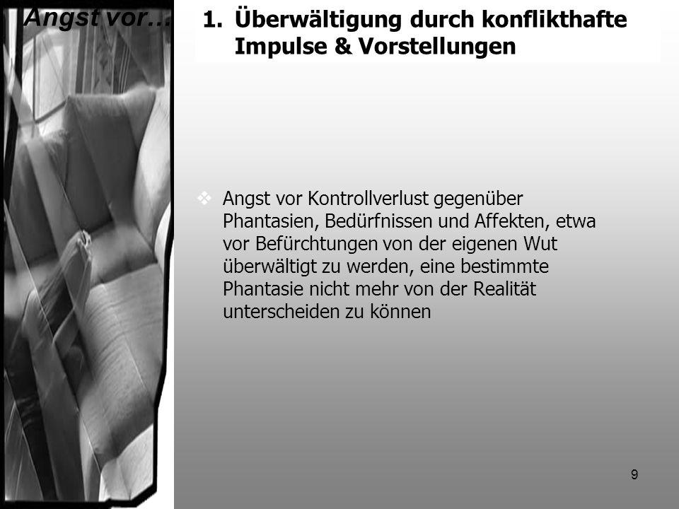 30 Kind´s Erklärungsmodell (1992, 1998) Frühe Gruppe Präpsychotisches Niveau Späte Gruppe Mittleres Borderline-Niveau Fusionäre Suizidalität Antifusionäre Suizidalität Manipulative Suizidalität Resignative Suizidalität
