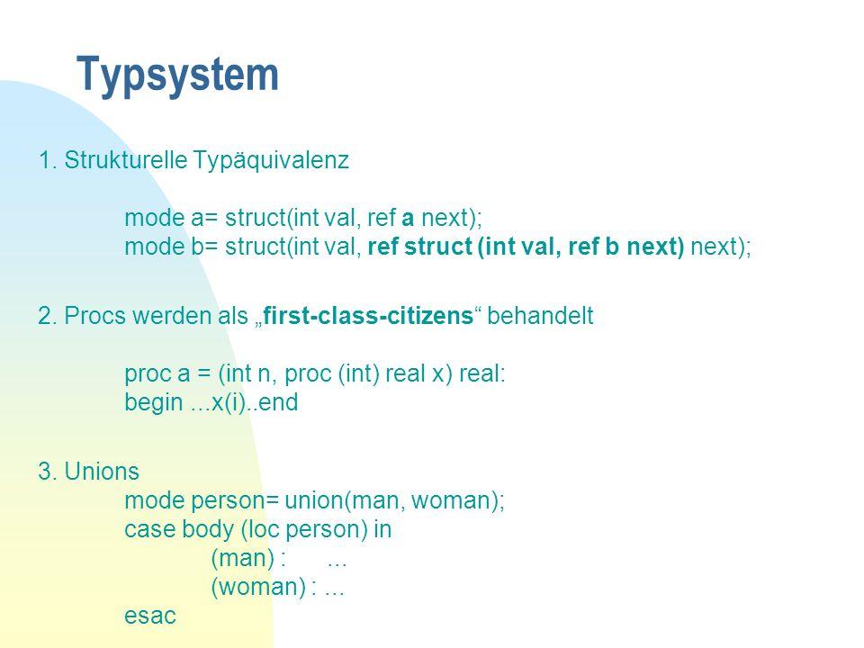 Typsystem 1.