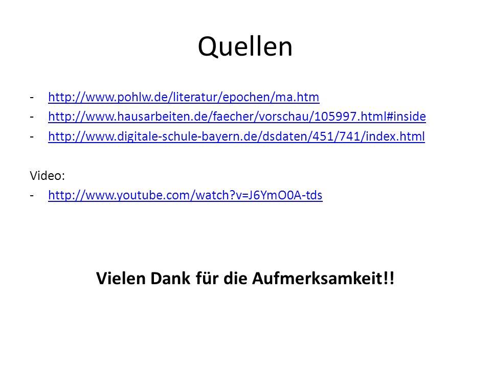 Quellen -http://www.pohlw.de/literatur/epochen/ma.htmhttp://www.pohlw.de/literatur/epochen/ma.htm -http://www.hausarbeiten.de/faecher/vorschau/105997.