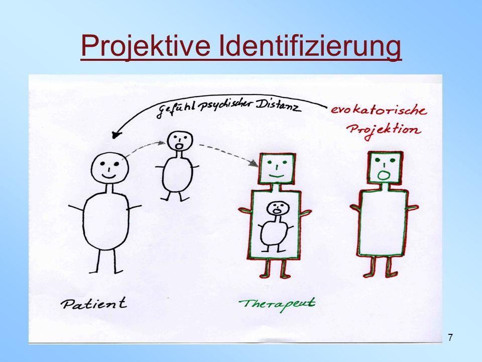 8 Kernbergs Theorie Unfähigkeit frühe Selbst- und Objektbilder zu integrieren Spaltung schützt das gute vor dem bösen Objekt Inszenierung der Spaltung auf der Verhaltensebene