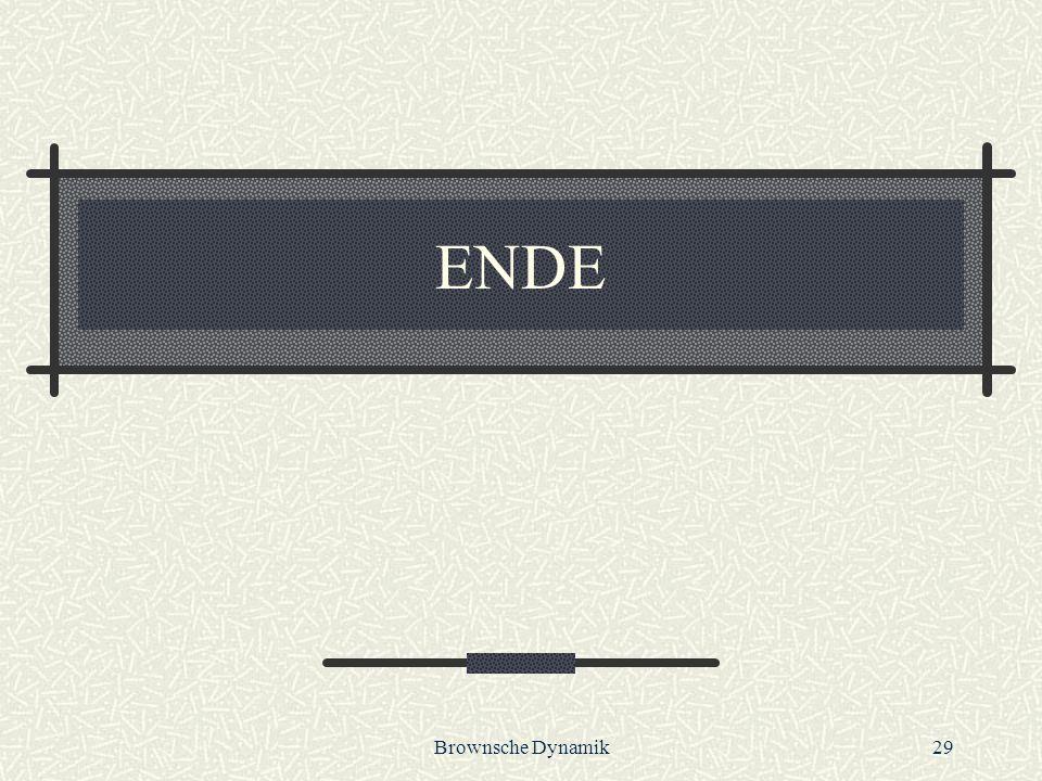 Brownsche Dynamik29 ENDE