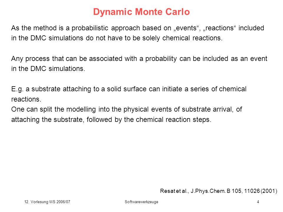 12.Vorlesung WS 2006/07Softwarewerkzeuge15 Chromatophore vesicle: typical form in Rh.