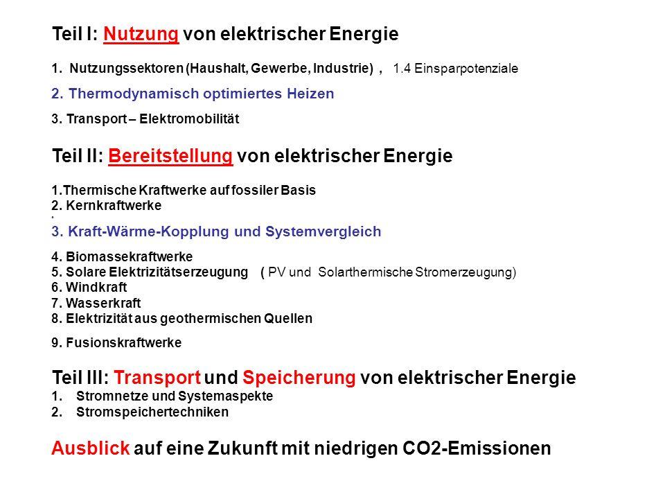 Zitat aus EU Richtlinie 2004/8/EG Anhang III Verfahren zur Bestimmung der Effizienz des KWK-Prozesses f) Wirkungsgrad-Referenzwerte für die getrennte Erzeugung von Strom und Wärme …… Die Wirkungsgrad-Referenzwerte werden nach folgenden Grundsätzen berechnet: 1.