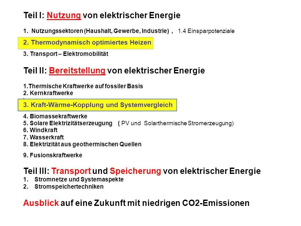 Teil I: Nutzung von elektrischer Energie 1.