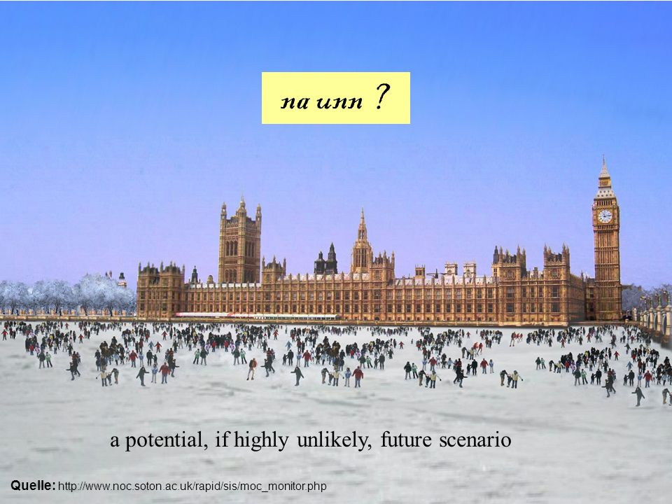 na unn ? a potential, if highly unlikely, future scenario Quelle: http://www.noc.soton.ac.uk/rapid/sis/moc_monitor.php