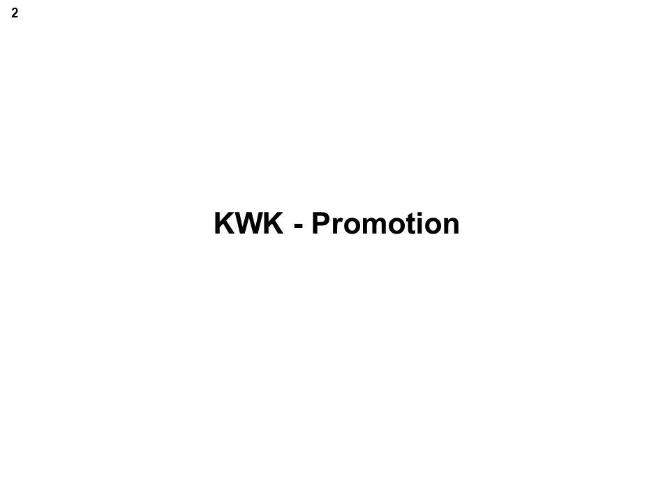 KWK - Promotion 2