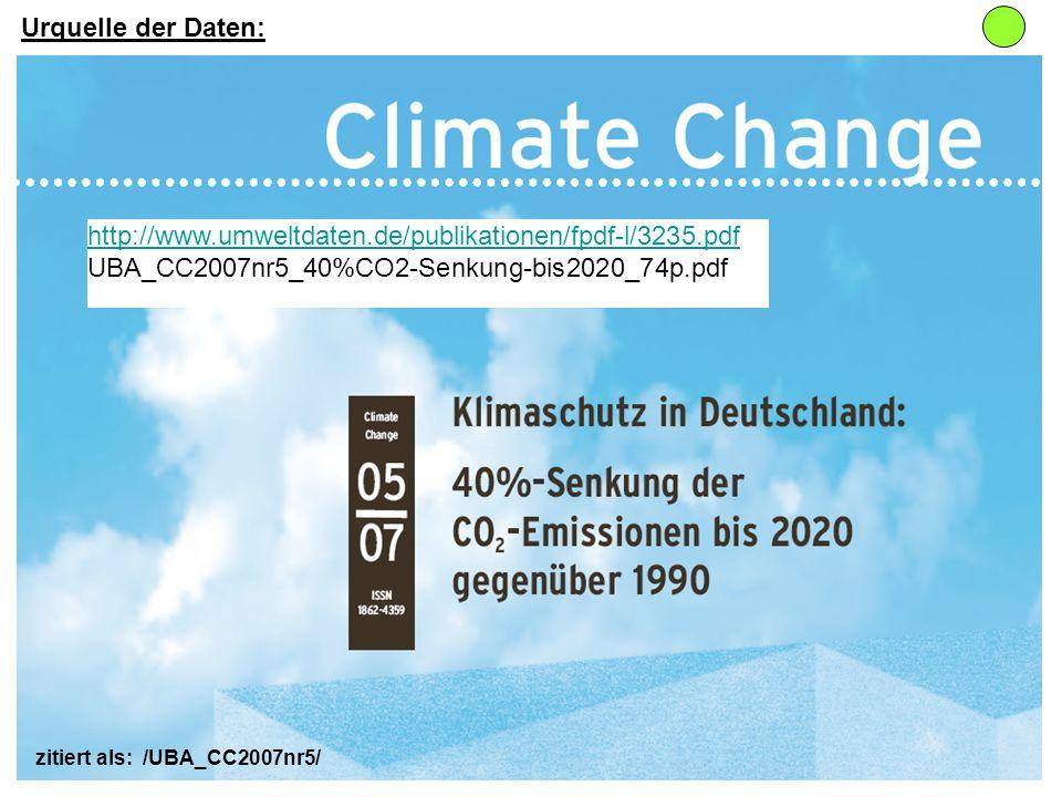 http://www.umweltdaten.de/publikationen/fpdf-l/3235.pdf UBA_CC2007nr5_40%CO2-Senkung-bis2020_74p.pdf Urquelle der Daten: zitiert als: /UBA_CC2007nr5/