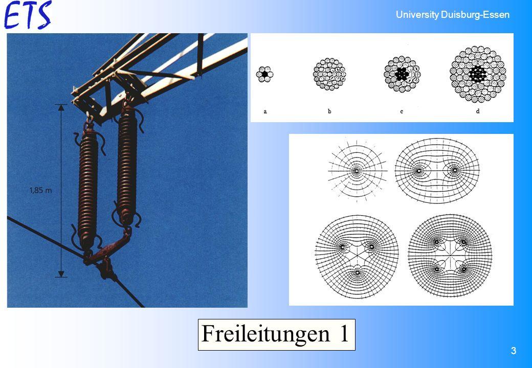 University Duisburg-Essen 3 Freileitungen 1