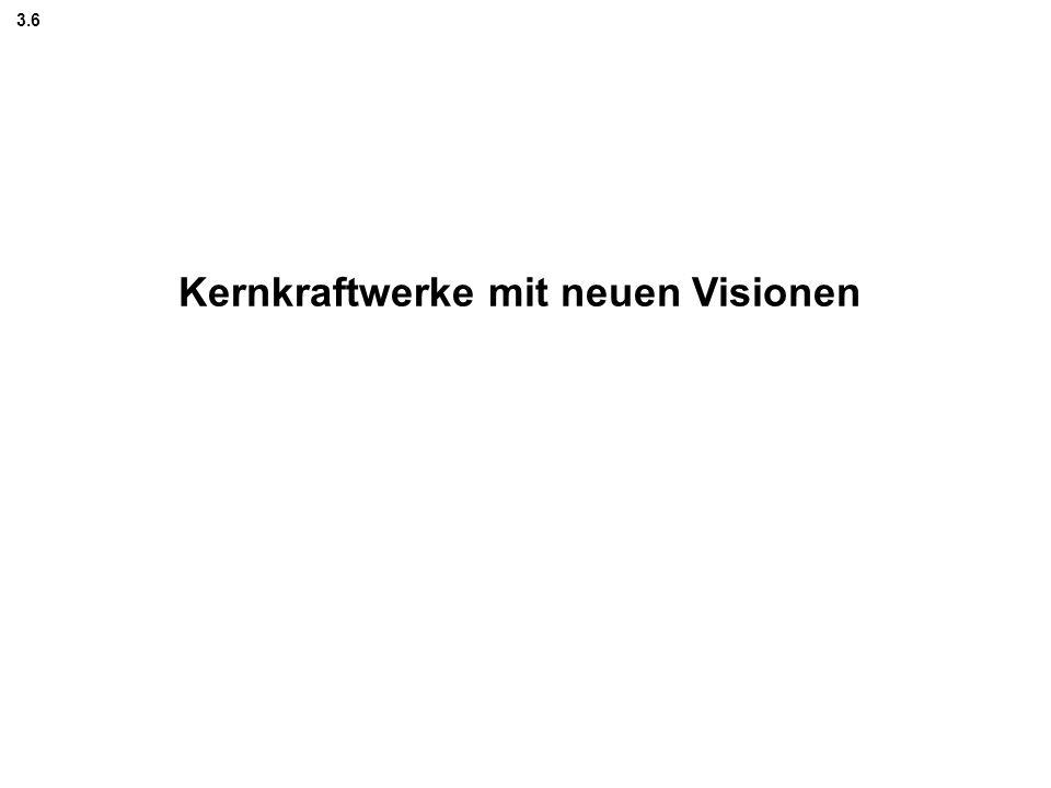 Kernkraftwerke mit neuen Visionen 3.6