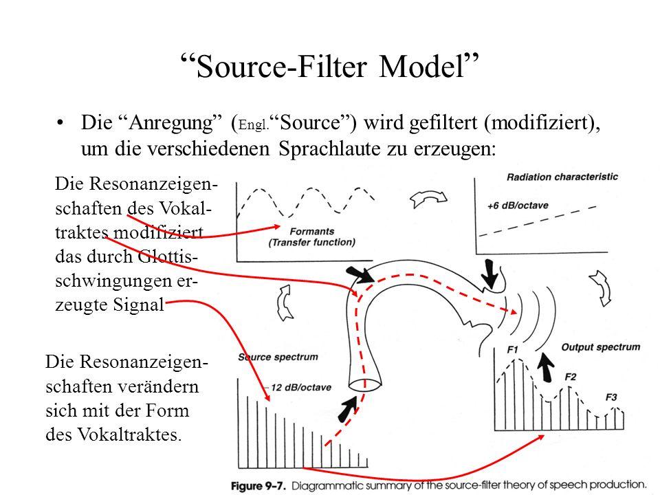 Artikulation Akustik Die Erzeugung der akustisch unterschiedlichen Laute, die für die sprachliche Informationsübertragung nötig sind, beruht auf: Dies