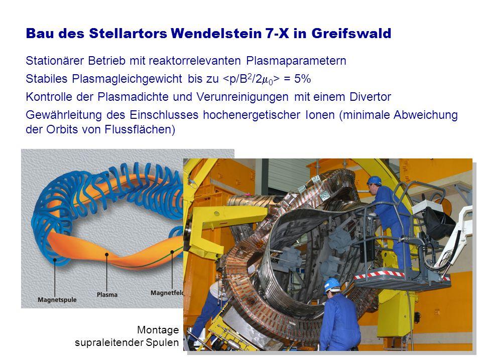 Einschluss hochenergetischer Teilchen im Stellarator