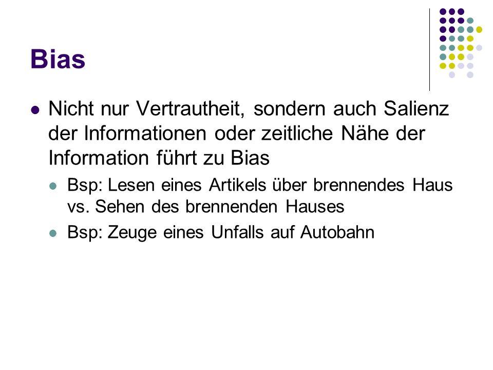 Quellen Bierhoff, H.(1998) Sozialpsychologie.4. Auflage.