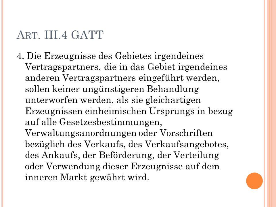 A RT. III.4 GATT 4.