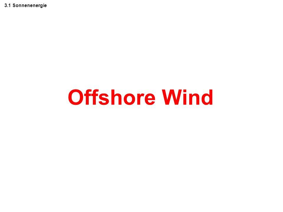 3. Einige Trendbrecher zur CO2-Einsparung 3.1 Sonnenenergie (Offshore Wind, Biomasse, direkte Umwandlung) 3.2 Energieeinsparung beim Verbrauch 3.3 Fos
