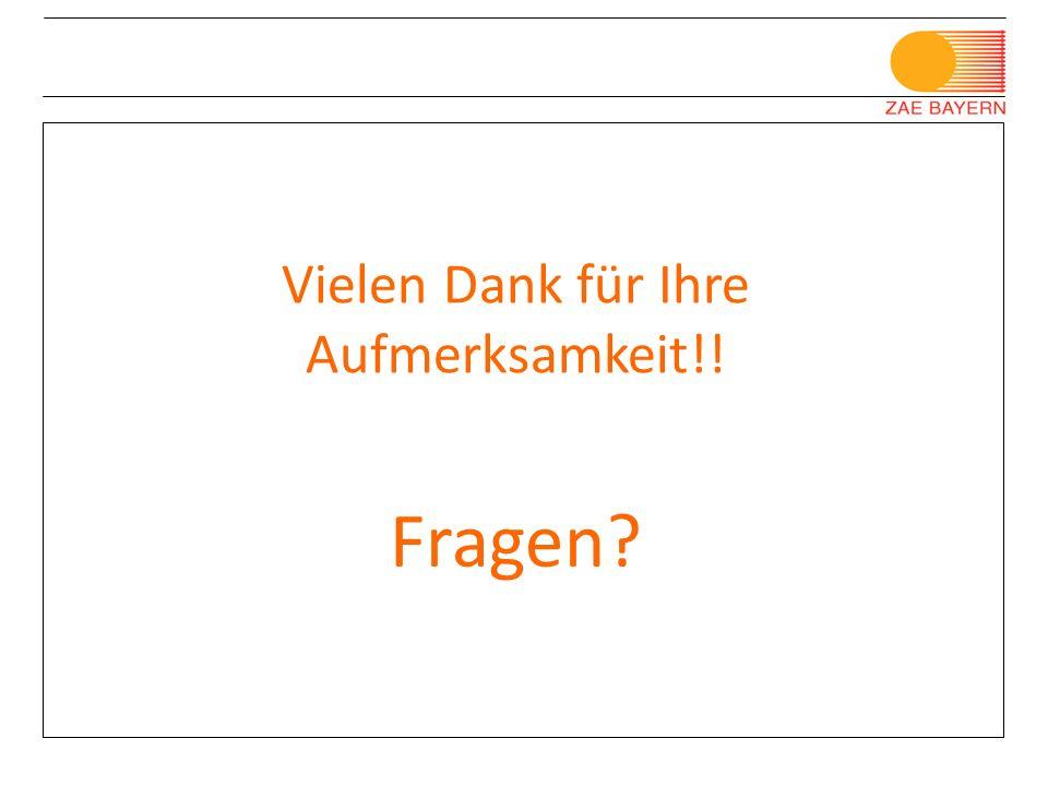 © Bayerisches Zentrum für Angewandte Energieforschung e.V. Porotec Workshop, Bad Soden 11/ 2008 Vielen Dank für Ihre Aufmerksamkeit!! Fragen?