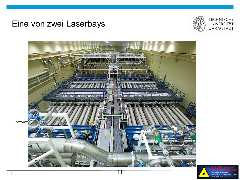 11 | | NIF-0506-11956 Eine von zwei Laserbays