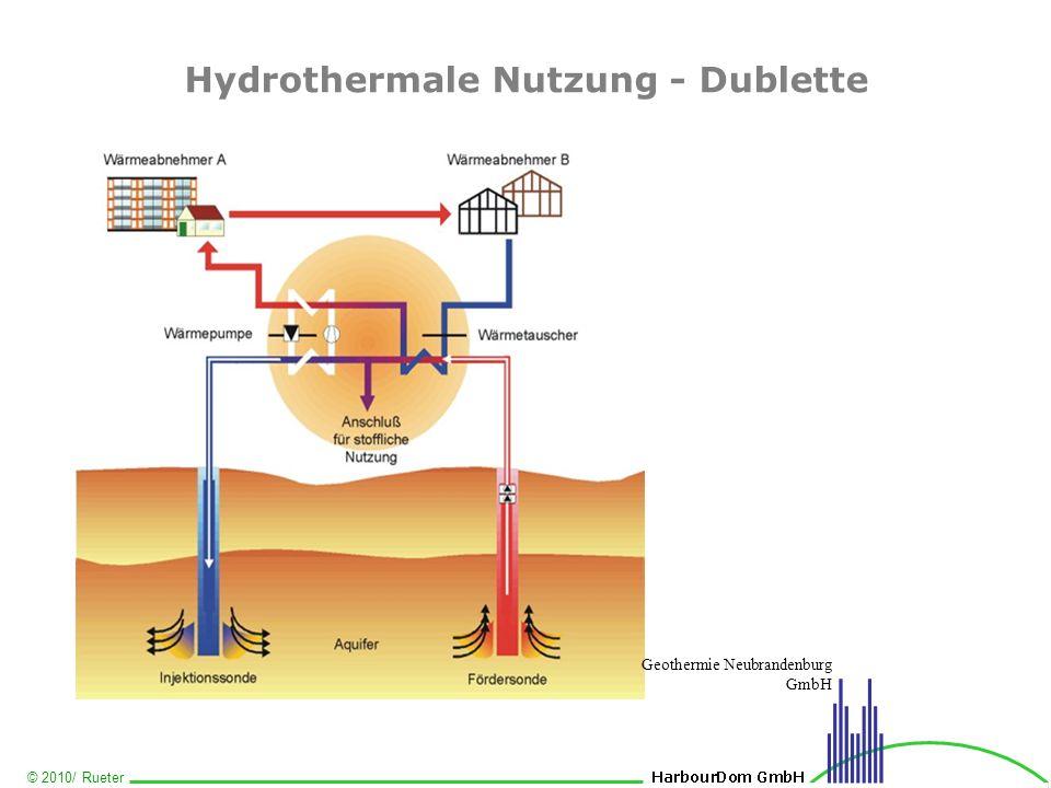 © 2010/ Rueter Hydrothermale Nutzung - Dublette Geothermie Neubrandenburg GmbH