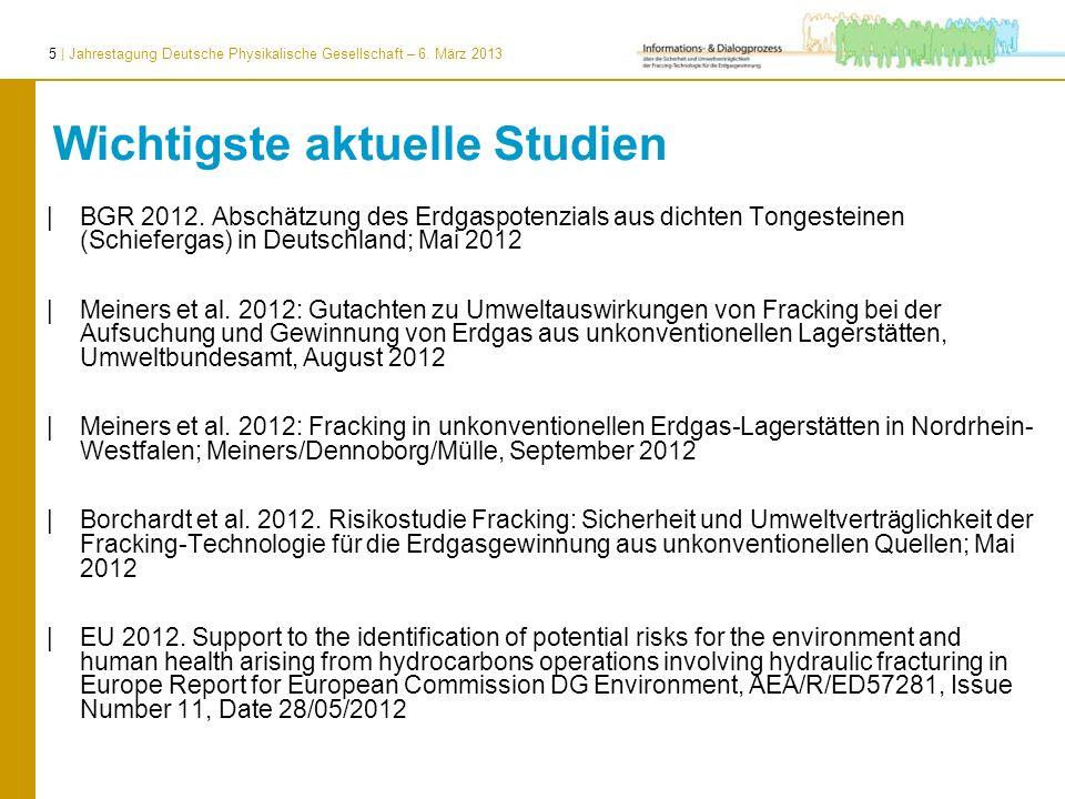 6   Jahrestagung Deutsche Physikalische Gesellschaft – 6. März 2013 Synopse der Schwerpunkte