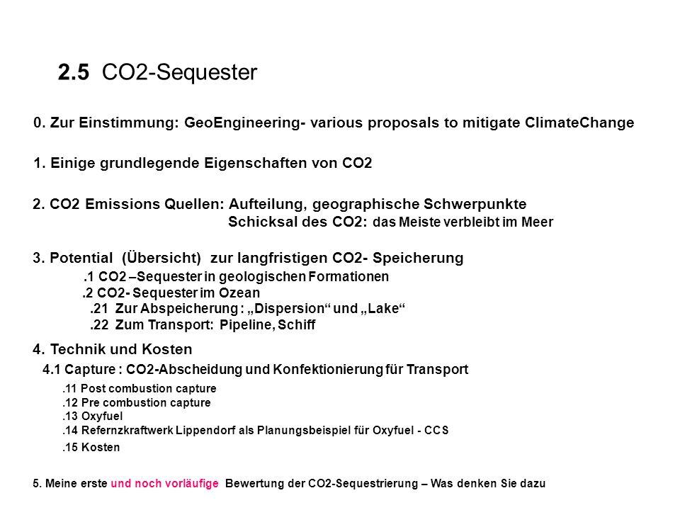 Quelle:IPCC2002_Regina; Ohshumi: OceanStorage., Folie 3.2 CO2 –Sequester im Ozean 2.532