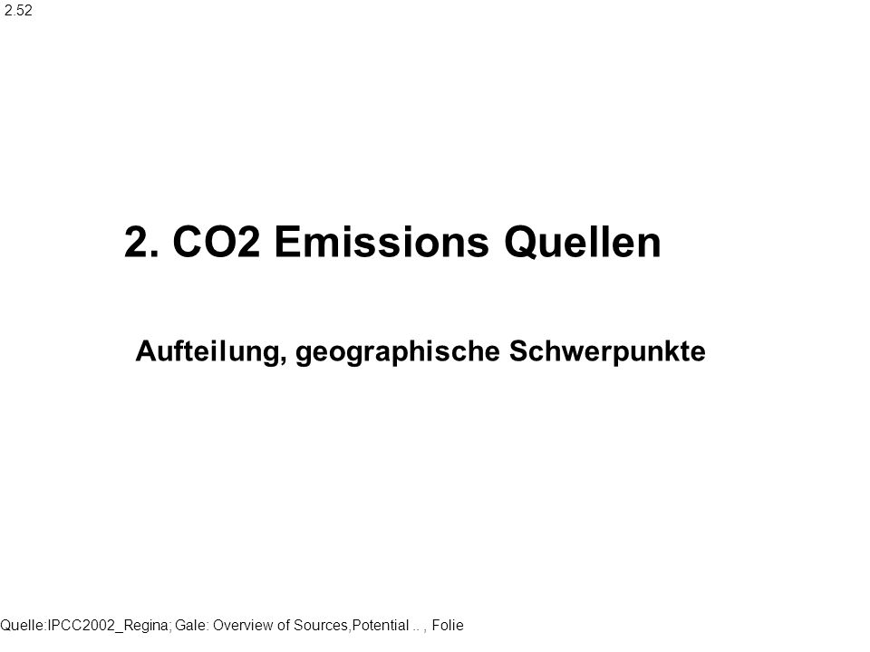 Quelle:IPCC2002_Regina; Gale: Overview of Sources,Potential.., Folie 5 22,6 erfasst von Datenbank = Quellstärken