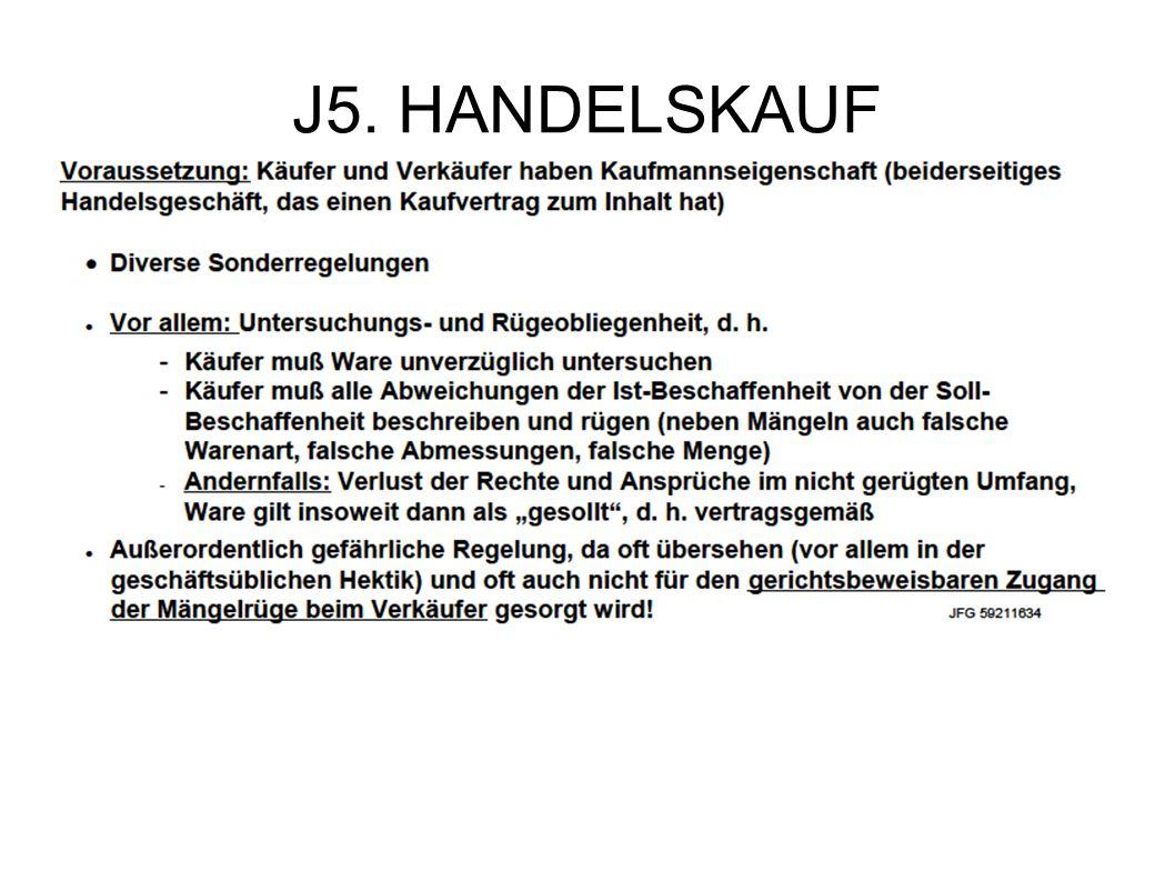 J5. HANDELSKAUF