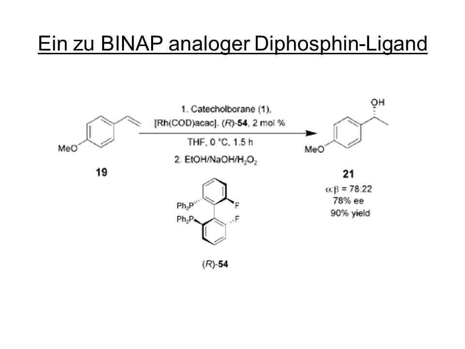 Ein zu BINAP analoger Diphosphin-Ligand