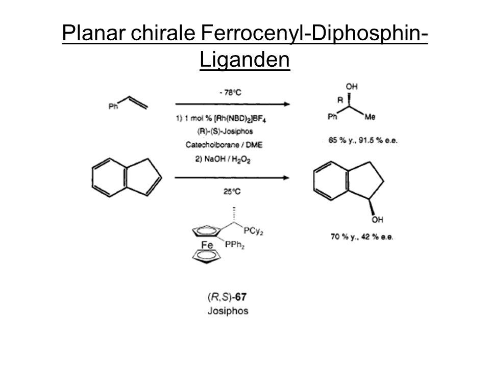 Planar chirale Ferrocenyl-Diphosphin- Liganden