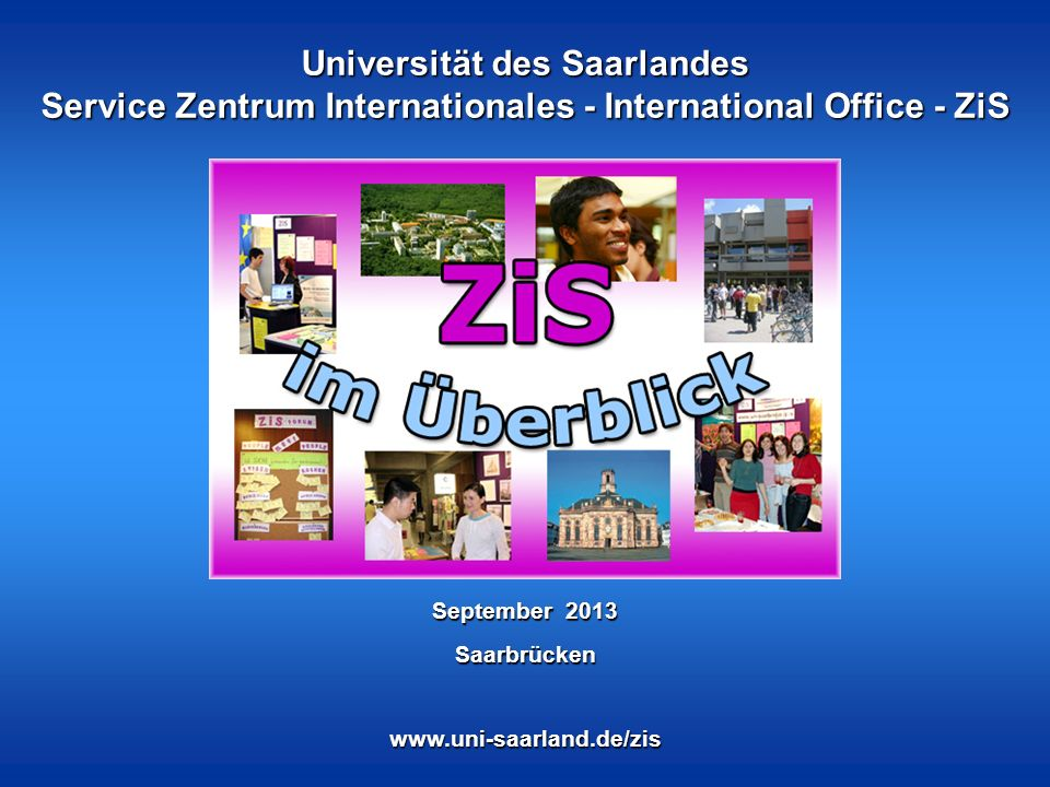 ZiS-Präsentation 2/20 Was ist ZiS.