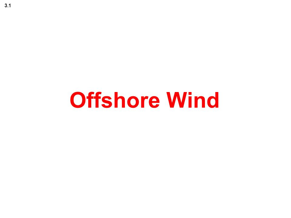 Offshore Wind 3.1