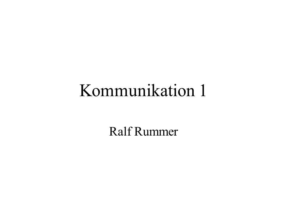Gegenstand der heutigen Sitzung: Modelle der Kommunikation Ein informationstheoretisches Modell (Shannon & Weaver) Ein psychologisches Kommunikationsmodell (K.