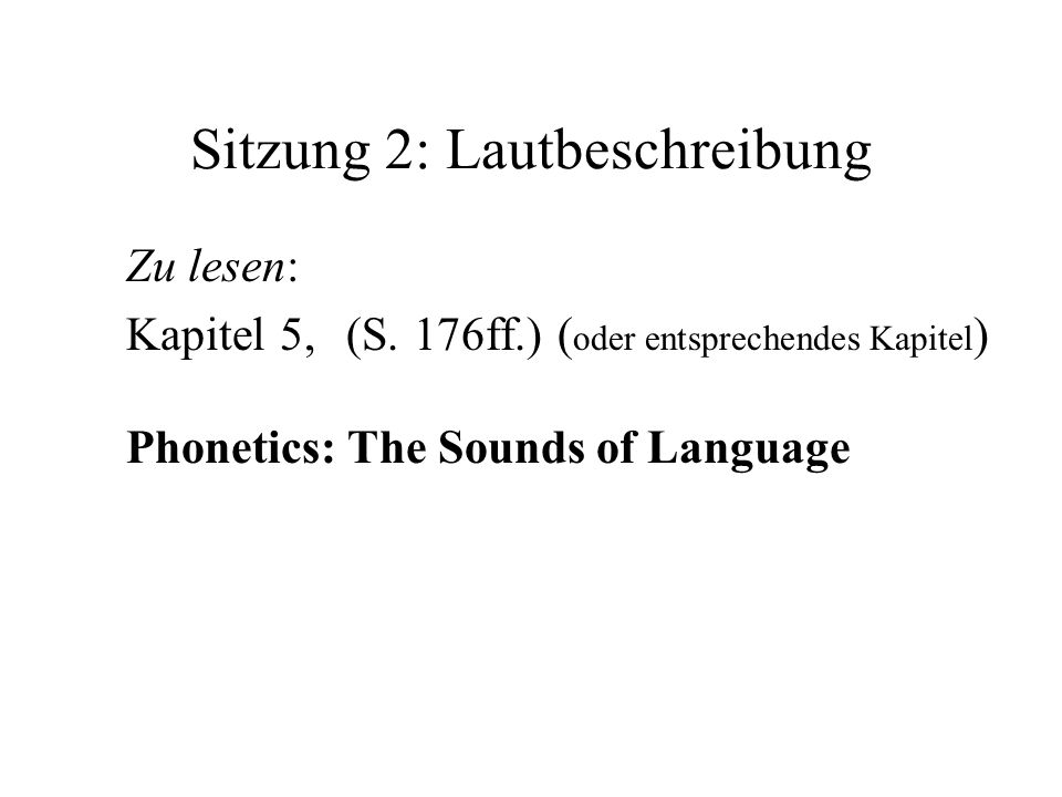 Deutsche Konsonanten Art/Ortlab.alv. p-alv. pal. vel.