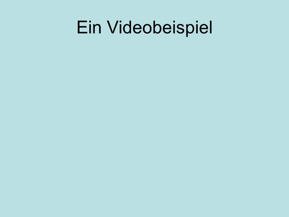 Ein Videobeispiel