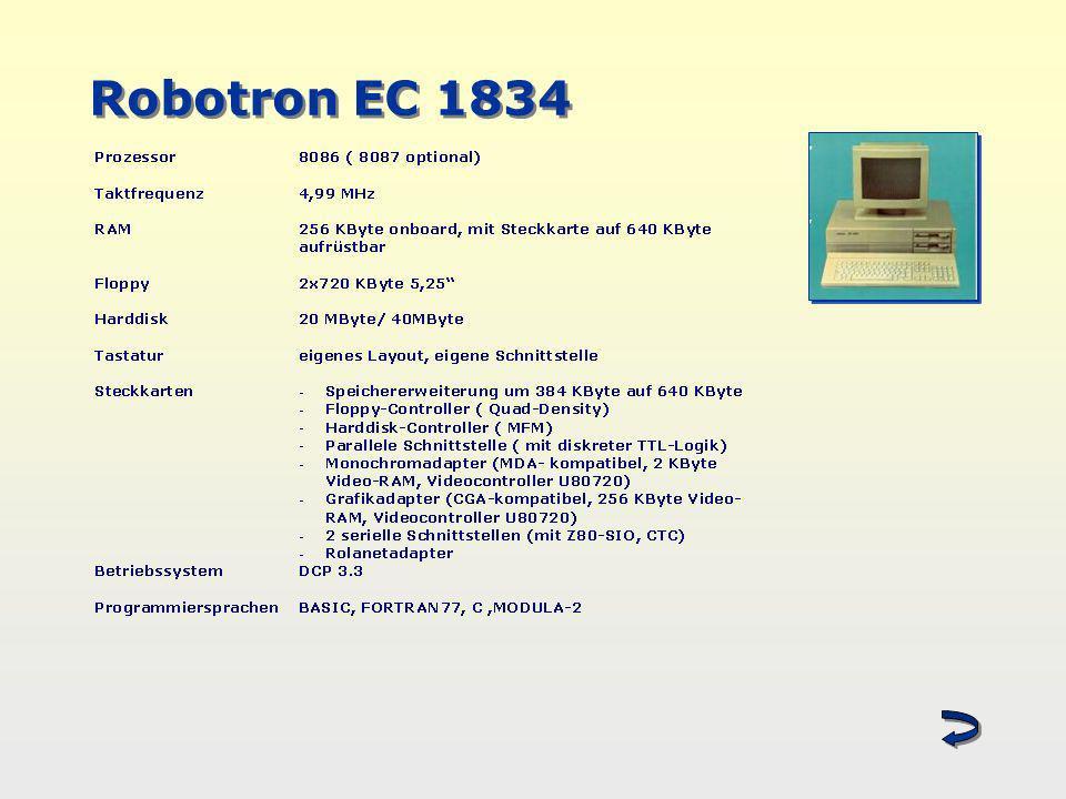 Robotron EC 1834