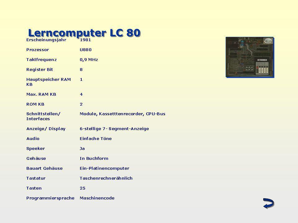 Lerncomputer LC 80