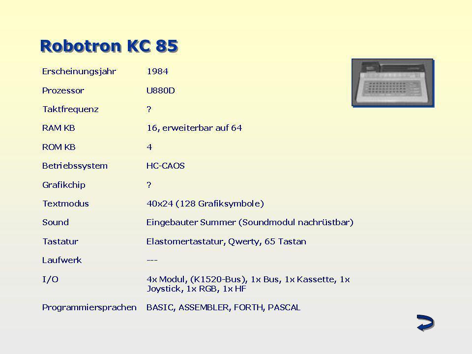 Robotron KC 85