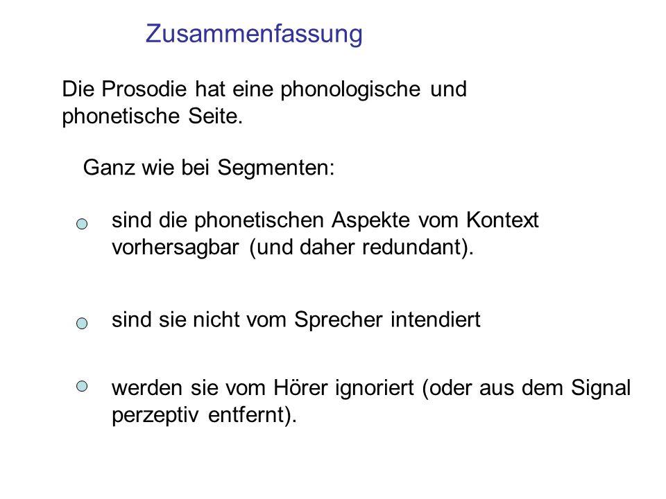 Trunkierung, Komprimierung Analogie: Deutsch und Französisch haben /p/, der sich phonetisch in diesen Sprachen jedoch unterscheidet ([p h ] deutsch, [p] französisch) d.h.
