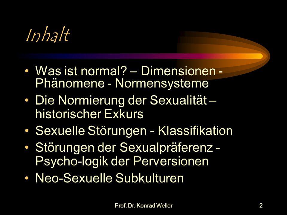 Prof.Dr. Konrad Weller3 Was ist normal.