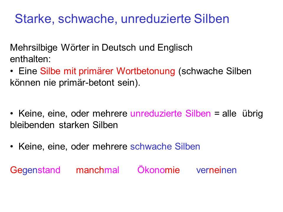 Tonakzent, Grundfrequenz, Wortbetonung Da der Tonakzent mit der primär-betonten Silbe des akzentuierten Wortes assoziiert wird, haben Wörter mit unterschiedlichen primären Wortbetonungen einen anderen Grundfrequenzverlauf, auch wenn die Melodie dieselbe ist.