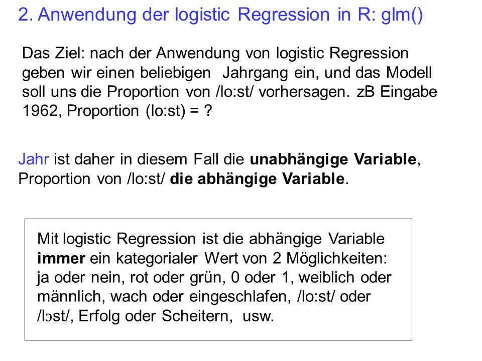 g = glm(lost3 ~ A * G, binomial) anova(g, test= Chisq ) Df Deviance Resid.