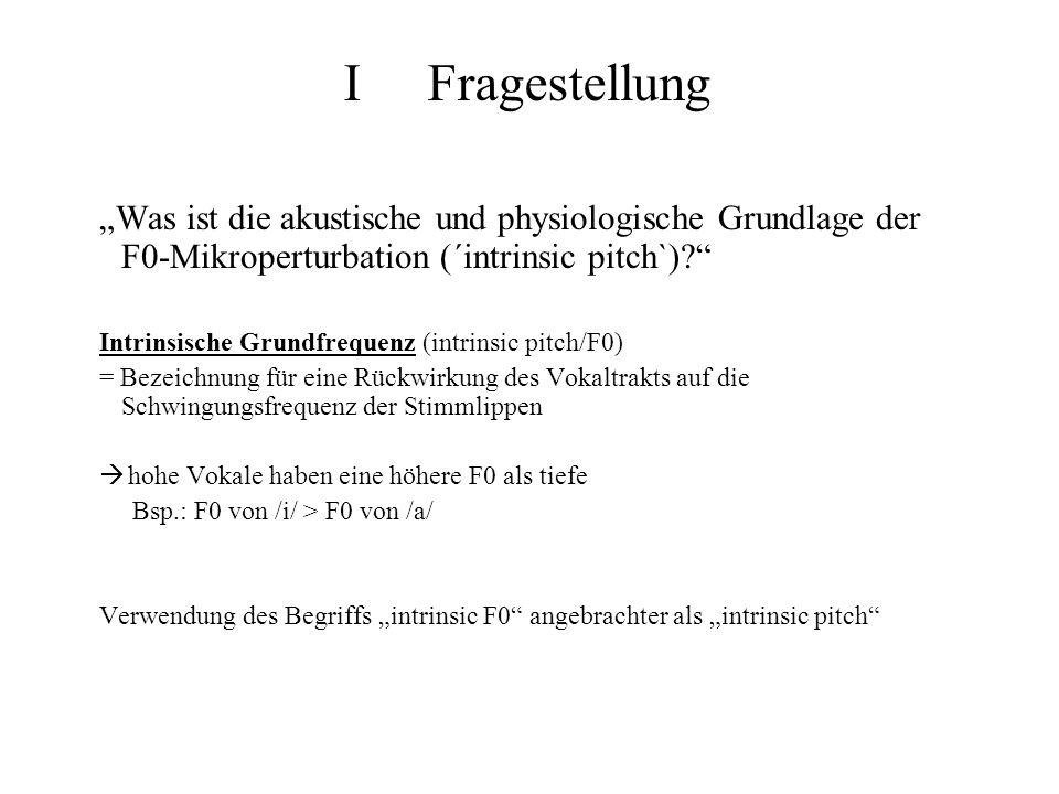 Was ist die akustische und physiologische Grundlage der F0-Mikroperturbation (´intrinsic pitch`)? Intrinsische Grundfrequenz (intrinsic pitch/F0) = Be