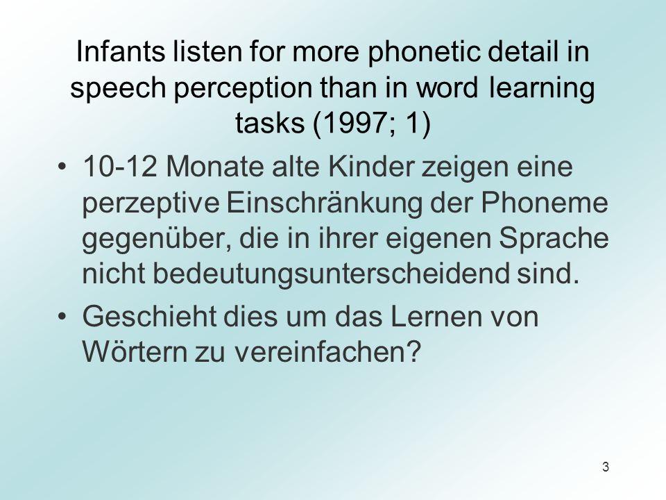 24 Zusammenfassung Die qualitativen Unterschiede (zw.